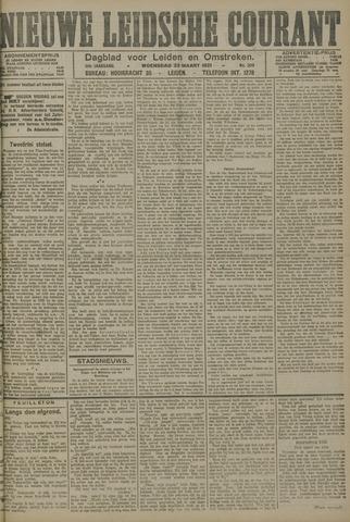 Nieuwe Leidsche Courant 1921-03-23