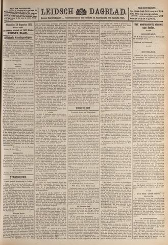 Leidsch Dagblad 1921-08-24
