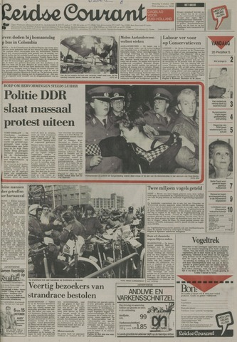 Leidse Courant 1989-10-09