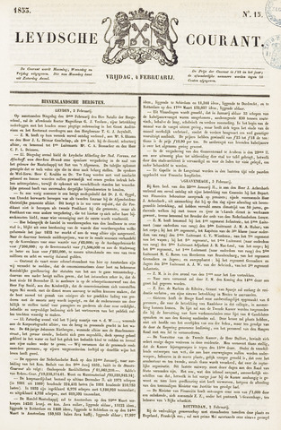Leydse Courant 1853-02-04