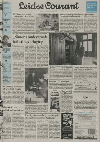 Leidse Courant 1992-01-10