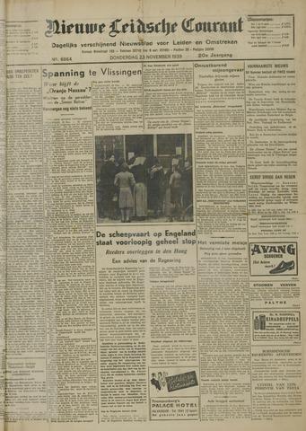 Nieuwe Leidsche Courant 1939-11-23