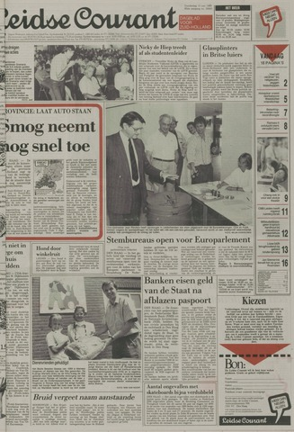 Leidse Courant 1989-06-15