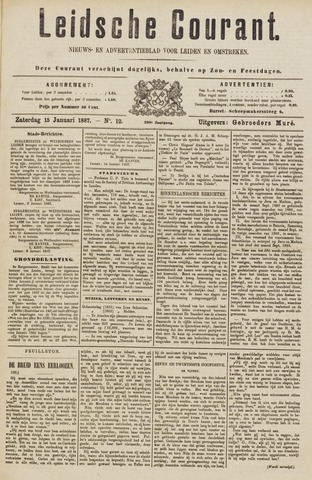 Leydse Courant 1887-01-15