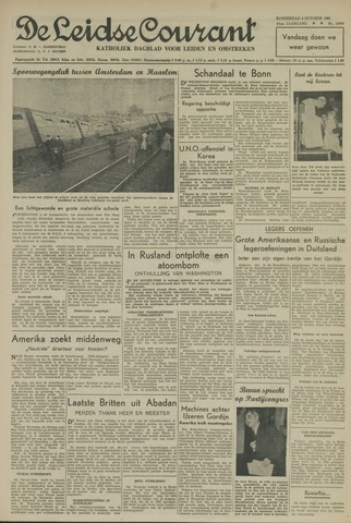Leidse Courant 1951-10-04
