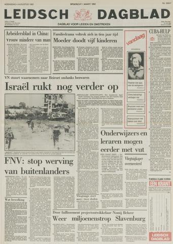 Leidsch Dagblad 1982-08-04