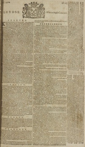 Leydse Courant 1770-05-30