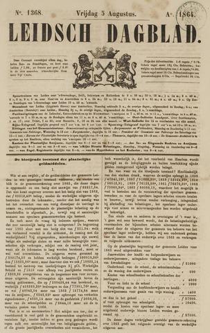 Leidsch Dagblad 1864-08-05