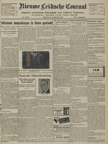 Nieuwe Leidsche Courant 1939-01-13
