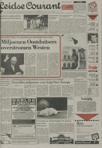 Leidse Courant 1989-11-18