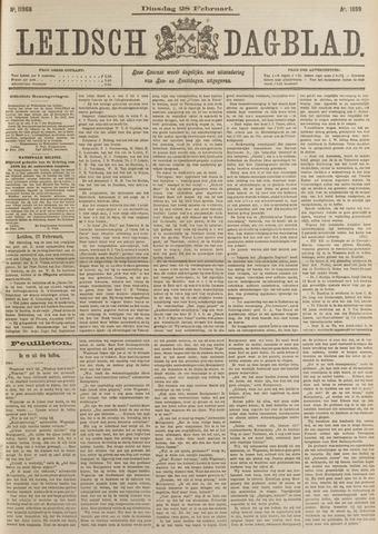 Leidsch Dagblad 1899-02-28
