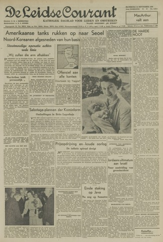 Leidse Courant 1950-09-16