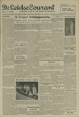 Leidse Courant 1952-05-09