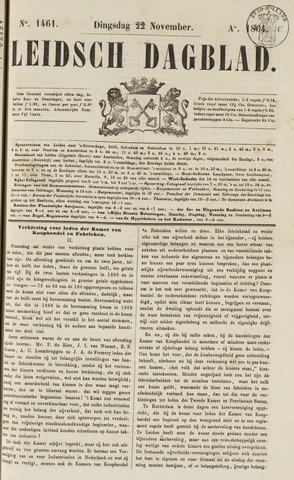 Leidsch Dagblad 1864-11-22