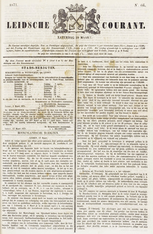 Leydse Courant 1871-03-18