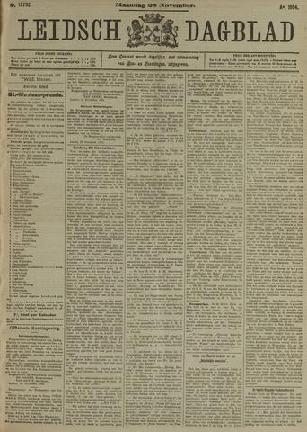Leidsch Dagblad 1904-11-28
