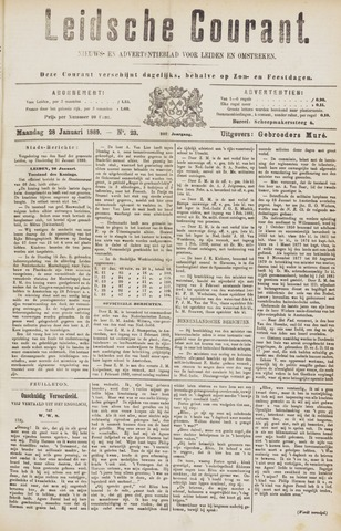 Leydse Courant 1889-01-28