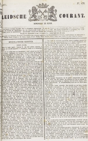 Leydse Courant 1871-07-25