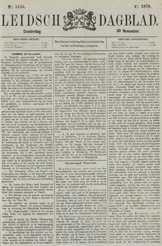 Leidsch Dagblad 1876-11-30