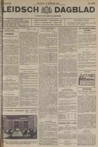 Leidsch Dagblad 1933-02-13
