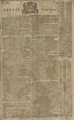 Leydse Courant 1754-04-12