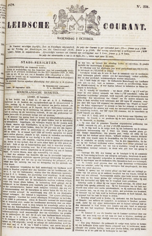 Leydse Courant 1879-10-01