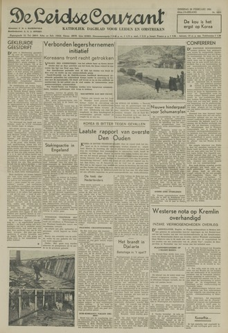 Leidse Courant 1951-02-20