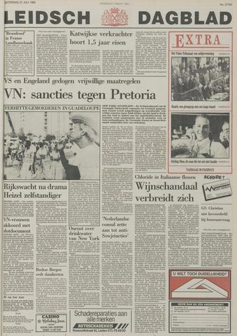 Leidsch Dagblad 1985-07-27