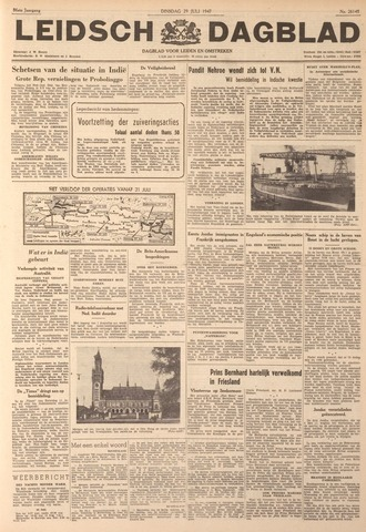 Leidsch Dagblad 1947-07-29