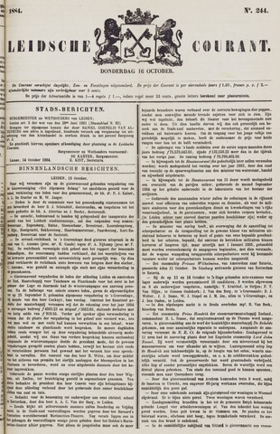Leydse Courant 1884-10-16