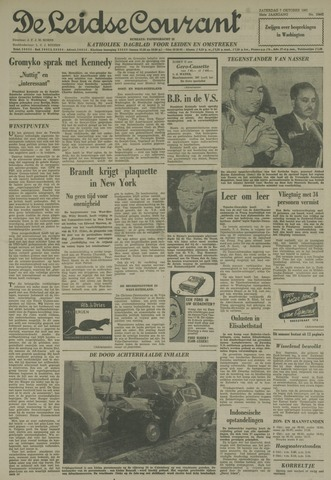 Leidse Courant 1961-10-07