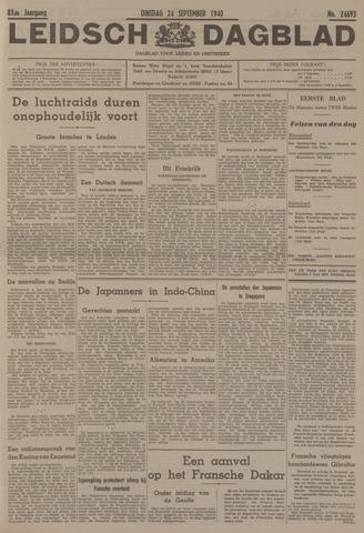 Leidsch Dagblad 1940-09-24