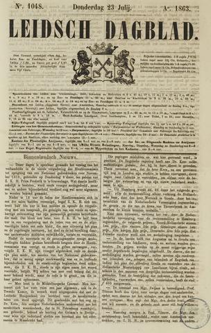 Leidsch Dagblad 1863-07-23
