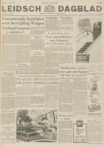 Leidsch Dagblad 1962-04-02