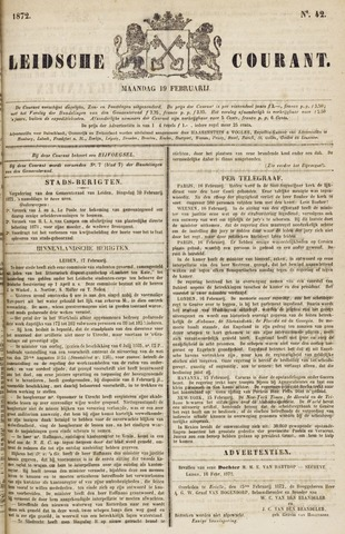 Leydse Courant 1872-02-19