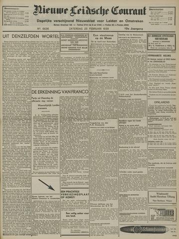 Nieuwe Leidsche Courant 1939-02-25