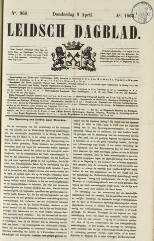 Leidsch Dagblad 1863-04-09