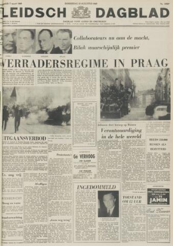 Leidsch Dagblad 1968-08-22