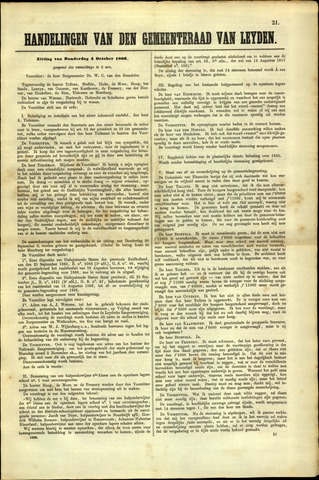 Handelingen van de Raad 1866-10-04
