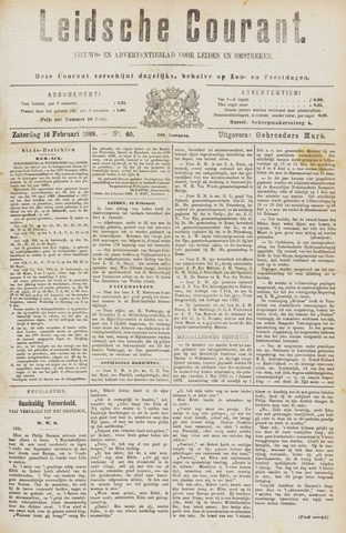 Leydse Courant 1889-02-16