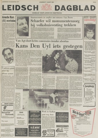 Leidsch Dagblad 1977-08-20