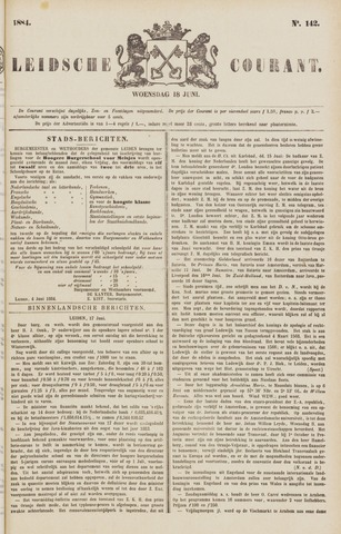 Leydse Courant 1884-06-18