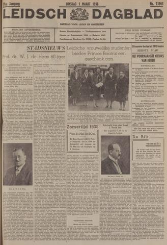 Leidsch Dagblad 1938-03-01
