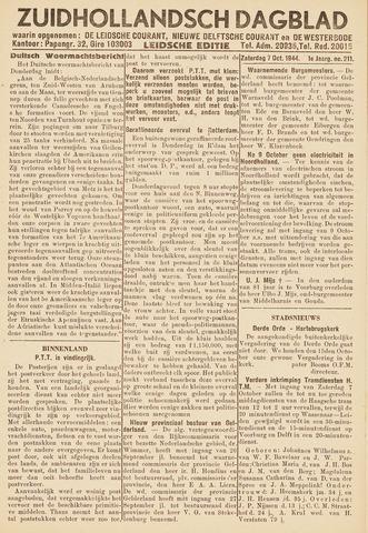 Zuidhollandsch Dagblad 1944-10-07