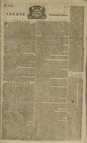Leydse Courant 1754-03-13