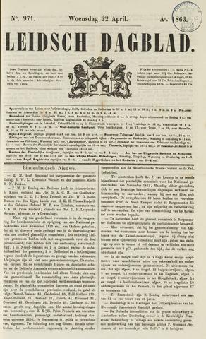 Leidsch Dagblad 1863-04-22