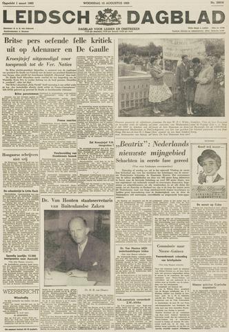 Leidsch Dagblad 1959-08-12