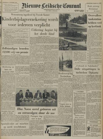 Nieuwe Leidsche Courant 1957-10-31