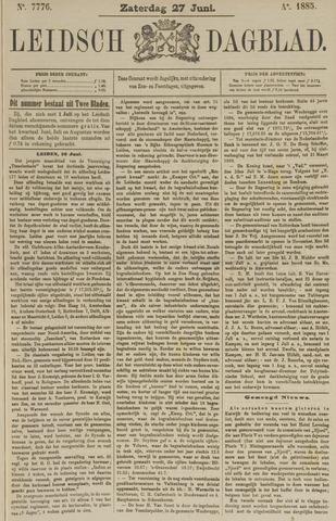 Leidsch Dagblad 1885-06-27