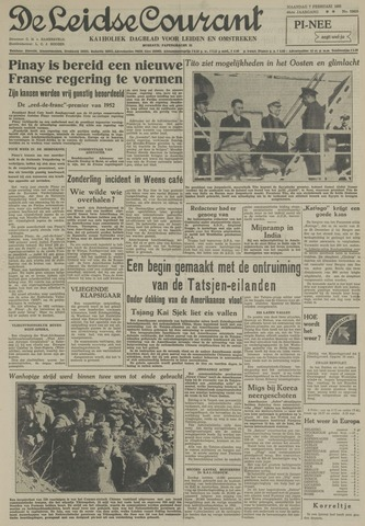 Leidse Courant 1955-02-07